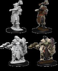 Nolzur's Marvelous Unpainted Minis - Female Half-Orc Barbarian