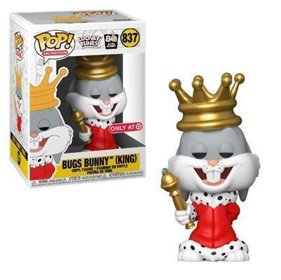 POP! Animation 837TAG - Looney Tunes - Bugs Bunny 80th - Bugs Bunny (King) Target Exclusive