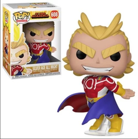 POP! Animation 608 - My Hero Academia - Silver Age All Might