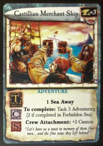 Castillian Merchant Ship