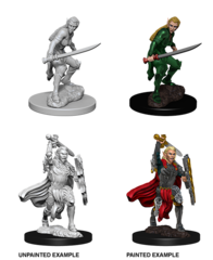 Nolzur's Marvelous Unpainted Minis - Female Elf Fighter