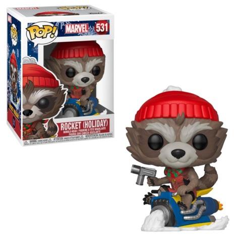 POP! Marvel 531 - Christmas 2019 - Rocket (Holiday)