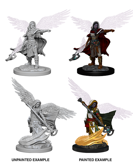 Nolzurs Marvelous Miniatures - Aasimar Female Wizard
