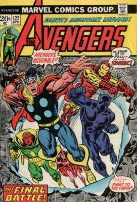 Avengers Vol. 1 (1963-1996, 2004) #122