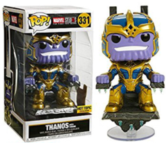 POP! Marvel 331HOT - Marvel Studios - Thanos with Throne Hot Topic Exclusive