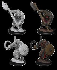 Pathfinder Battles Unpainted Minis - Gnolls
