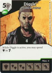 Diggle - Problem Solver (Foil) (Die & Card Combo)
