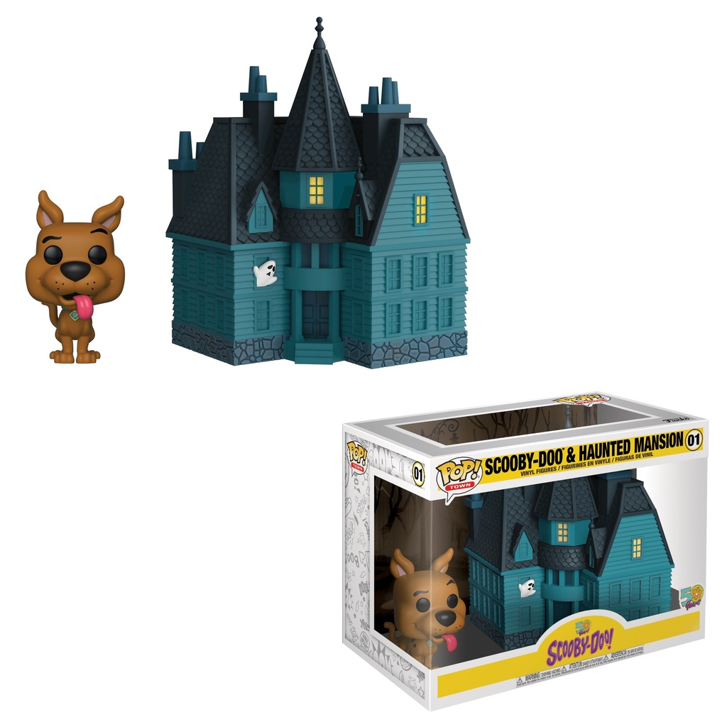 POP! Town (Animation) 01 - Scooby-Doo & Haunted Mansion