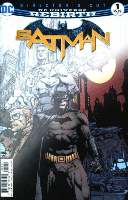 Batman Vol. 3 (2016-Present) #  1C