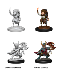 Nolzur's Marvelous Unpainted Minis - Female Halfling Fighter