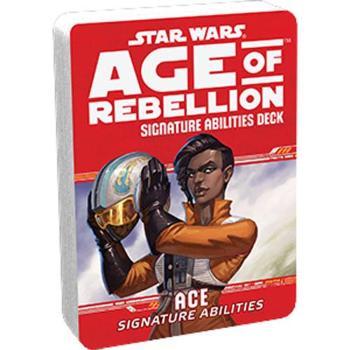 Star Wars RPG: Age of Rebellion - Ace Signature Abilities Deck