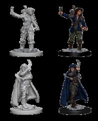 Pathfinder Battles Unpainted Minis - Human Female Rouge