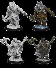 Nolzur's Marvelous Unpainted Minis - Male Half-Orc Barbarian