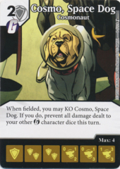Cosmo, Space Dog - Cosmonaut (Foil) (Die and Card Combo)