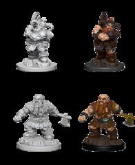 Nolzurs Marvelous Unpainted Minis - Male Dwarf Barbarian