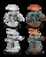 Nolzurs Marvelous Unpainted Minis - Myconid Adults