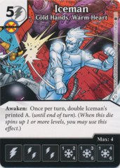 Iceman - Cold Hands, Warm Heart (Foil) (Die and Card Combo)