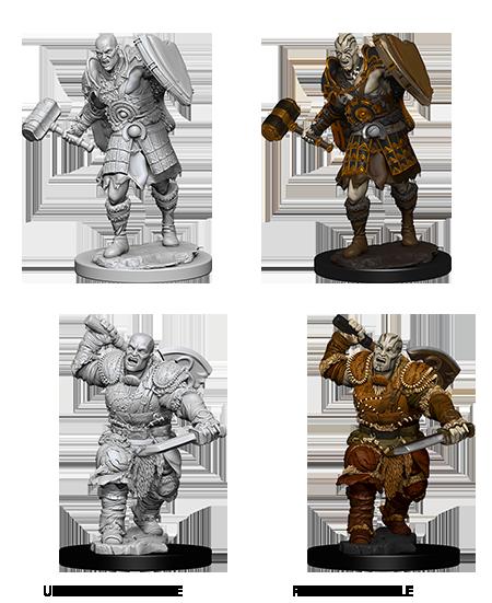 Nolzurs Marvelous Unpainted Minis - Male Goliath Fighter