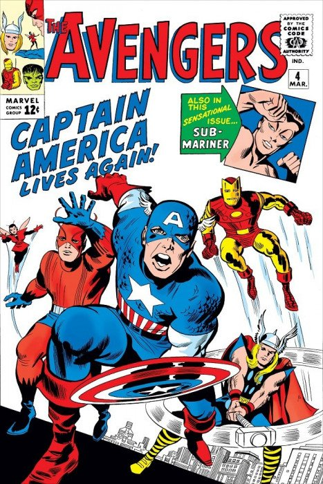 Avengers Vol. 1 (1963-1996, 2004) #  4