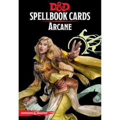 Dungeons And Dragons: Spellbook Cards - Arcane Deck version 3