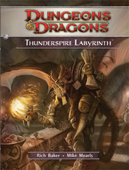 Dungeons and Dragons Thunderspire Labyrinth 4th Edition