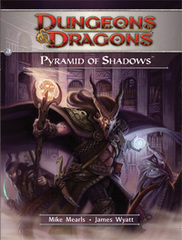 Dungeons and Dragons Pyramid of Shadows 4th Edition