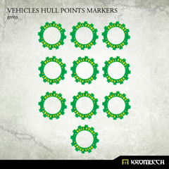 Green Vehicle Hull Markers