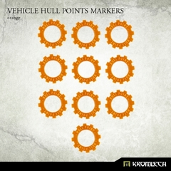 Orange Vehicle Hull Markers