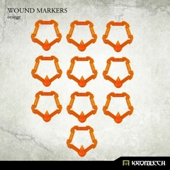 Orange Wound Markers