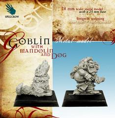 Goblin with Mandolin and Dog