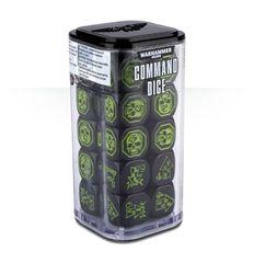 Command Dice - Black/Green