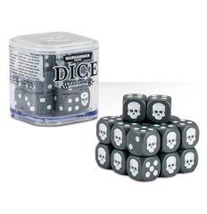 Dice - D6 Grey/White