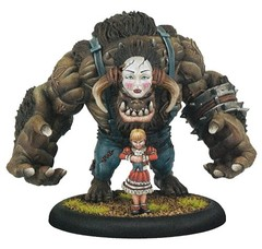 Hordes: Grymkin The Child Warlock (Resin and White Metal)