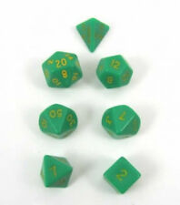 7 Die Set D'oh Opaque Green