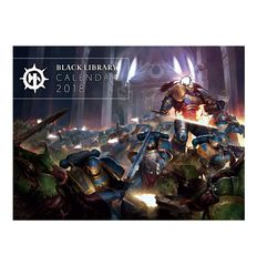 Black Library 2018 Calender
