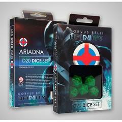 Infinity: Ariadna D20 Dice Set (5d20)