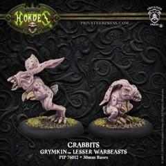 Hordes: Grymkin Crabbit Lesser Warbeast (White Metal)