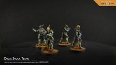 Infinity - Mercenaries: Druze Shock Teams