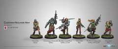 Infinity - Ariadna: Ariadna Caledonian Highlander Army Sectorial Starter Pack (2017)