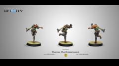 Infinity: Mercenaries Warcors, War Correspondents (Stun Pistol) (CVB 280728-0690)