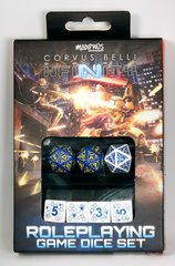Infinity Rpg: Dice Set - Mercenary (7 Ct)