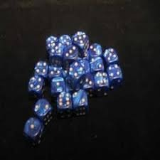 27 brick of Blue Pearl D6 Crystal Caste