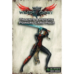 Wrath & Glory Talent & Psychic Power Cards