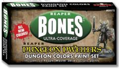 Reaper Bones Dungeon Colors Paint Set 09975