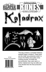 Kaladrax TEST RUN 87192