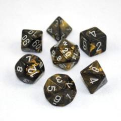 Leaf Black Gold/Silver 7-die set CHX27418