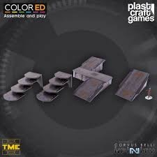 Plastcraft TME Ramps and Stairways ColorED