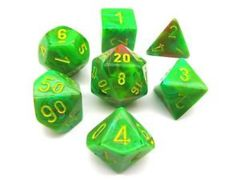 Vortex Slime/yellow 7 Die Set CHX27515