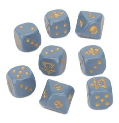 Space Wolves Kill Team Dice