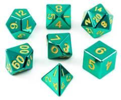 Metallic Turquoise 7 Die Set